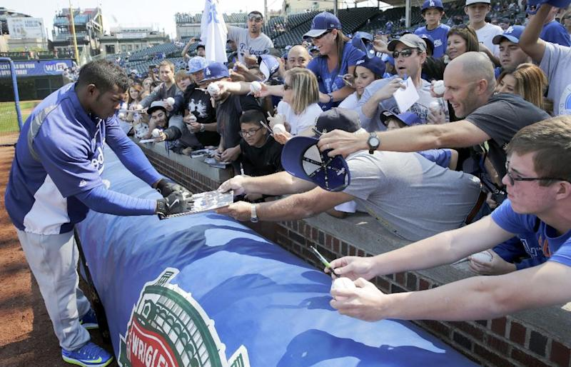 Kershaw gets 20th win as Dodgers pound Cubs 14-5