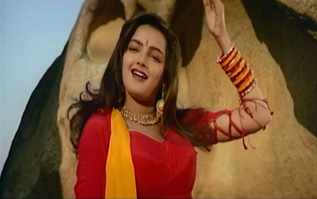 Nineties' bombshell Mamta Kulkarni had had some success before <em>Karan Arjun</em>, but her career peaked with this film. She did a handful of films later, gave up acting, and made headlines for her association with a druglord. Years later, she resurfaced as a sanyasin.