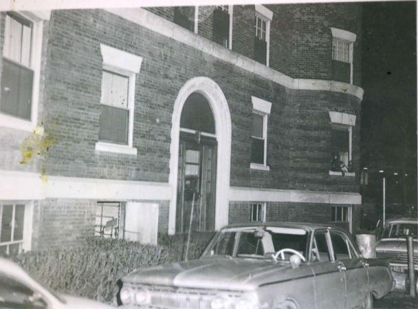 PHOTO: The exterior of an apartment building where Jane Britton lived is seen in Cambridge, Massachusetts, in January 1969. (Middlesex District Attorney's Office)
