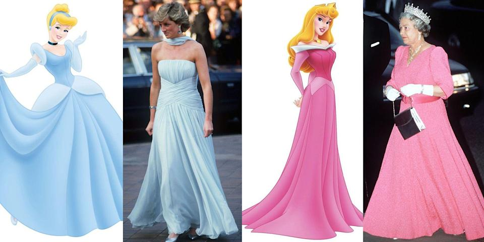 <p>When you're part of the royal family, dressing up for galas and black-tie events is just another part of the job. But what happens when princesses dress like, well ... princesses? You can't deny the similarities between some of these sartorial crossovers. We combed through our favorite past royal looks to round up all of the times royals drew inspiration from Disney's most famous characters. </p>