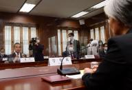Chinese Foreign Minister Wang Yi meets with South Korean Foreign Minister Kang Kyung-wha in Seoul