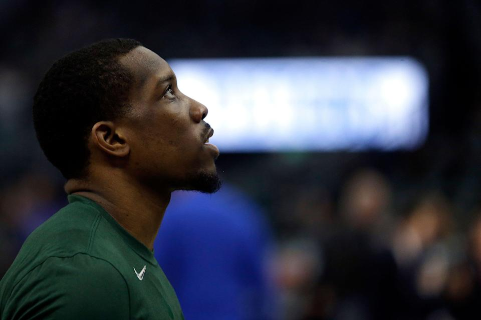 Eric Bledsoe has been a playoff disappointment for the Milwaukee Bucks. (AP)