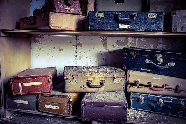 <p>Some of what the photographer saw seems to suggest that the inhabitants didn't leave but just vanished, with their suitcases remaining behind. (Caters News) </p>