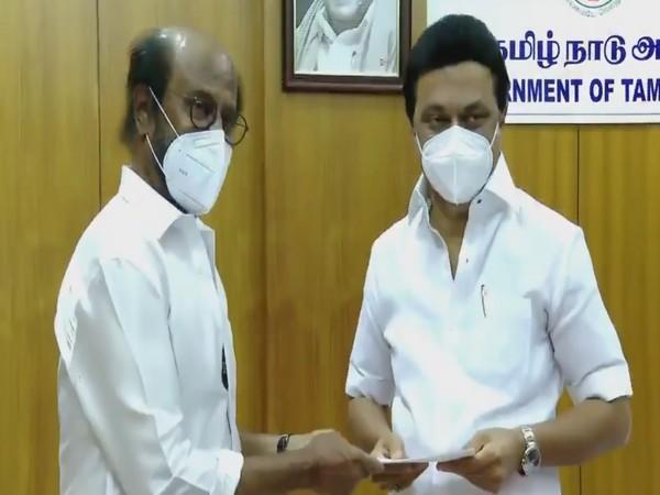 Actor Rajinikanth giving Rs 50 laakh for COVID-19 relief fund