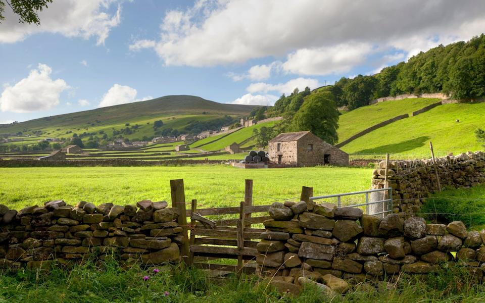 Idyllic Swaledale - Getty