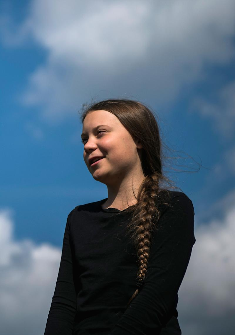 Greta Thunberg, the 16-year-old Swedish climate activist, is interviewed ahead of the