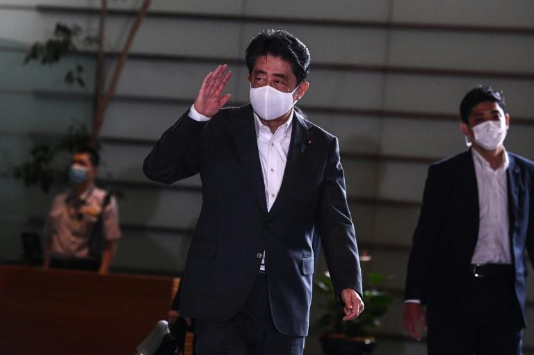 Japan's Abe urges stronger defences to face missiles