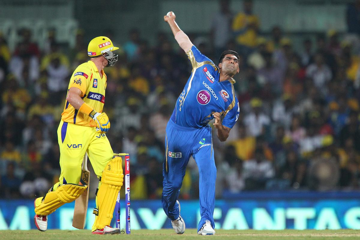 Munaf Patel during match 5 of of the Pepsi Indian Premier League between The Chennai Superkings and the Mumbai Indians held at the MA Chidambaram Stadiumin Chennai on the 6th April 2013..Photo by Ron Gaunt-IPL-SPORTZPICS ..Use of this image is subject to the terms and conditions as outlined by the BCCI. These terms can be found by following this link:..https://ec.yimg.com/ec?url=http%3a%2f%2fwww.sportzpics.co.za%2fimage%2fI0000SoRagM2cIEc&t=1506268902&sig=jmmJea1.DTCReNxcww6yew--~D