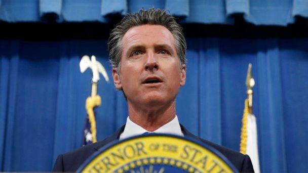 PHOTO: California Gov. Gavin Newsom during a news conference in Sacramento, Calif., July 23, 2019. (Rich Pedroncelli/AP)