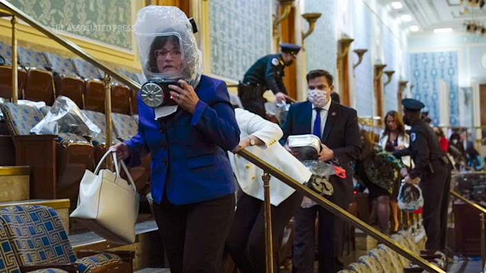 Chaos broke out in the U.S. Capitol Wednesday, as lawmakers hid from pro-Donald Trump supporters attacking the U.S. government.