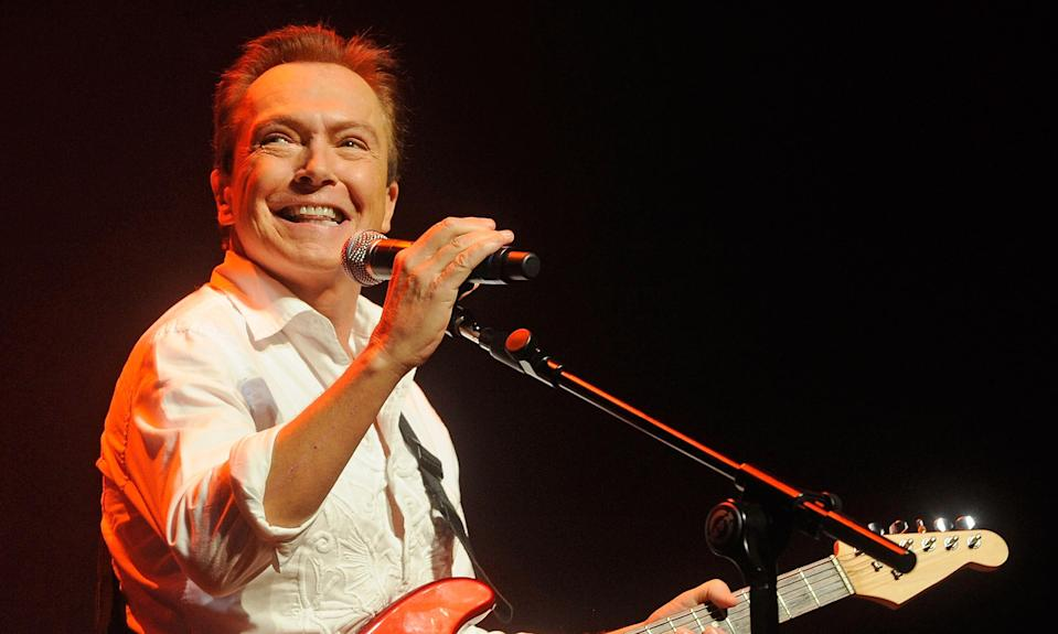 David Cassidy (Photo: The Guardian)