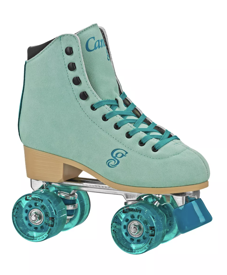 """<h2>Urban Outfitters Roller Derby Candi Grl Quad Roller Skate</h2><br>The <a href=""""https://www.refinery29.com/en-us/where-to-buy-roller-skates-online"""" rel=""""nofollow noopener"""" target=""""_blank"""" data-ylk=""""slk:roller-skating boom"""" class=""""link rapid-noclick-resp"""">roller-skating boom</a> of 2019 is still going strong, with most of us looking for outdoor activities to pass the time. What better way to spend a boring Saturday than rolling around Brooklyn? <br><br><strong>Urban Outfitters</strong> Roller Derby Candi Grl Quad Roller Skate, $, available at <a href=""""https://go.skimresources.com/?id=30283X879131&url=https%3A%2F%2Fwww.urbanoutfitters.com%2Fshop%2Froller-derby-candi-grl-quad-roller-skate"""" rel=""""nofollow noopener"""" target=""""_blank"""" data-ylk=""""slk:Urban Outffiters"""" class=""""link rapid-noclick-resp"""">Urban Outffiters</a>"""
