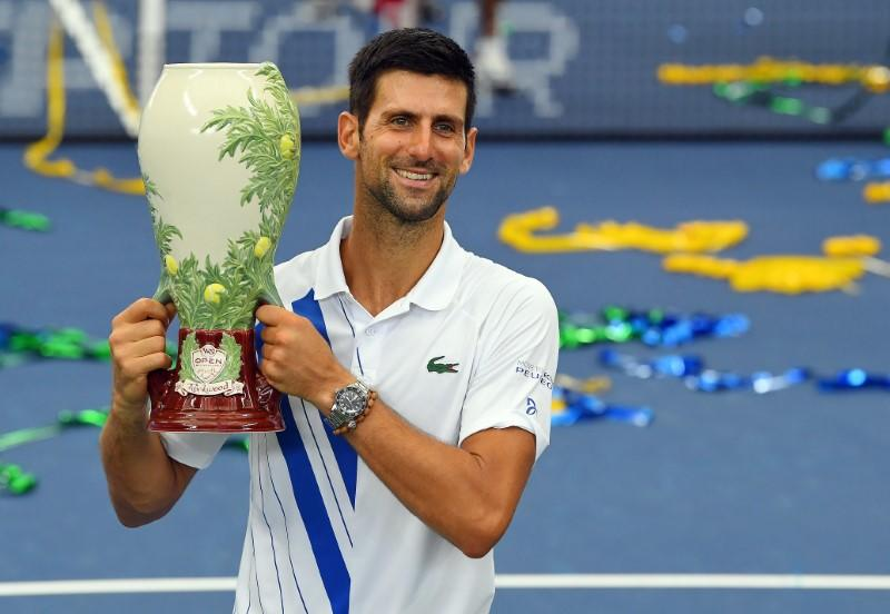 Djokovic out to make hay while the sun shines in New York