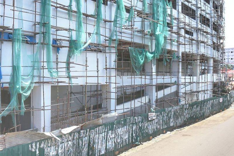 Work continues at 10-story CCMC