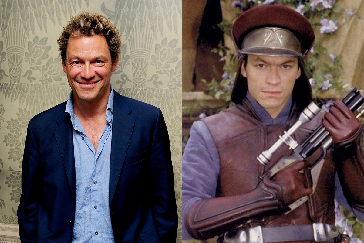 <p>Before he was Detective Jimmy McNulty in 'The Wire', Dominic West played another law enforcer of sorts in 'Phantom Menace'. He played a Palace Guard on Naboo, but you have to be sharp to spot him. </p>