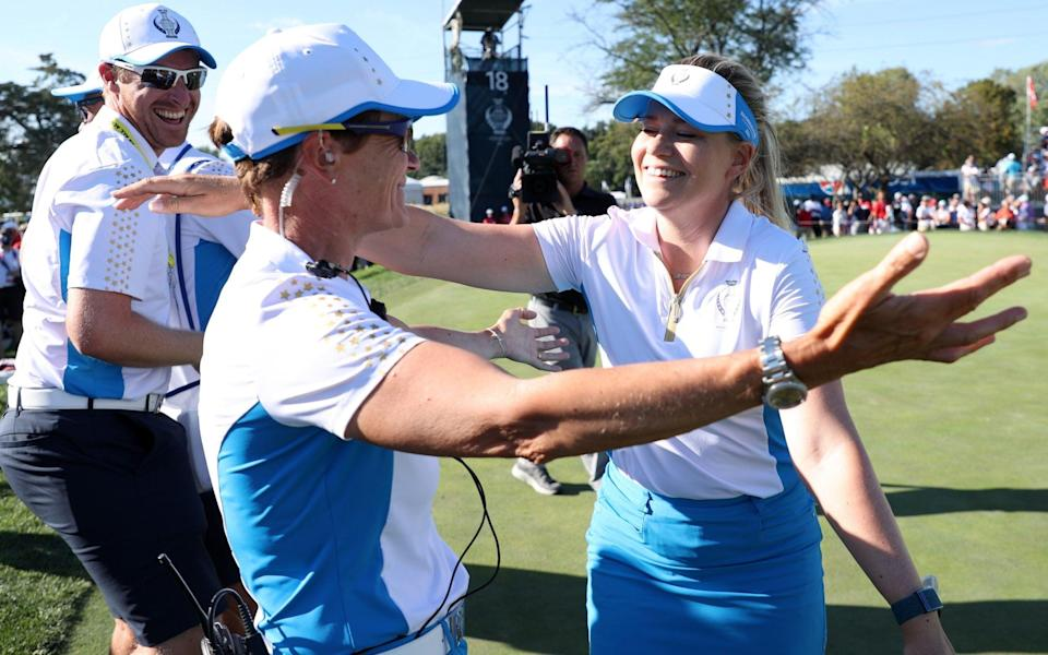 solheim cup 2021 live scores final latest results singles - GETTY IMAGES