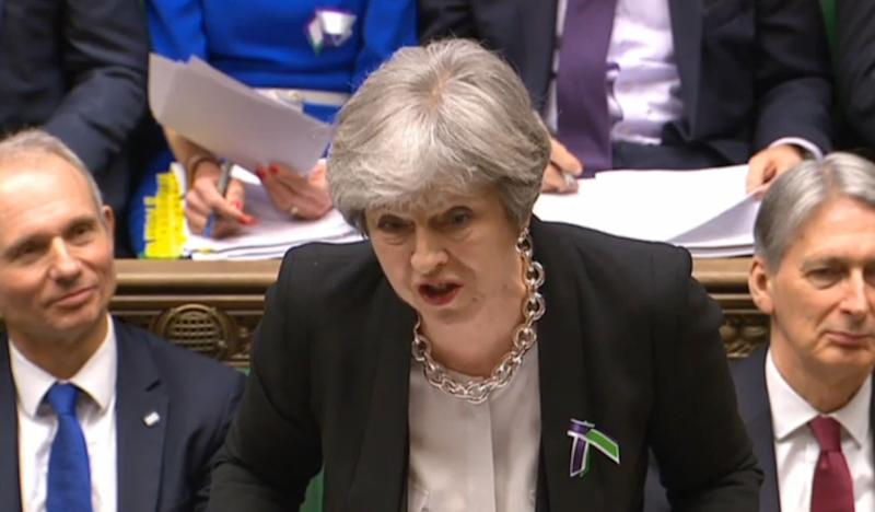 <strong>Theresa May issued a written clarification after PMQs this week</strong> (PA Wire/PA Images)