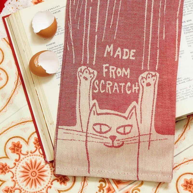 """If your friend is one to make their batters and bakes from scratch, this dish towel will be much appreciated.<br /><a href=""""https://fave.co/38jBzbB"""" target=""""_blank"""" rel=""""noopener noreferrer"""">Find it for $15 at AlwaysFits</a>. There's a <a href=""""https://fave.co/353tu97"""" target=""""_blank"""" rel=""""noopener noreferrer"""">matching oven mitt</a>, too."""