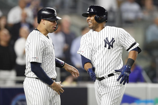 The Yankees are closing in on their first division title since 2012. (AP Photo/Kathy Willens)