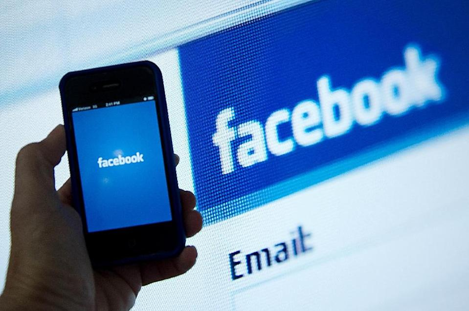 Thousands of users are suing Facebook for alleged rights violations, including data tracking (AFP Photo/Karen Bleier)