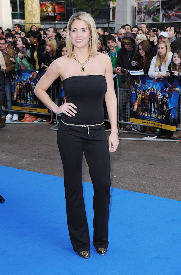 """Gemma Atkinson at the London premiere of <a href=""""http://movies.yahoo.com/movie/1810028001/info"""">Night at the Museum: Battle of the Smithsonian</a> - 05/12/2009"""