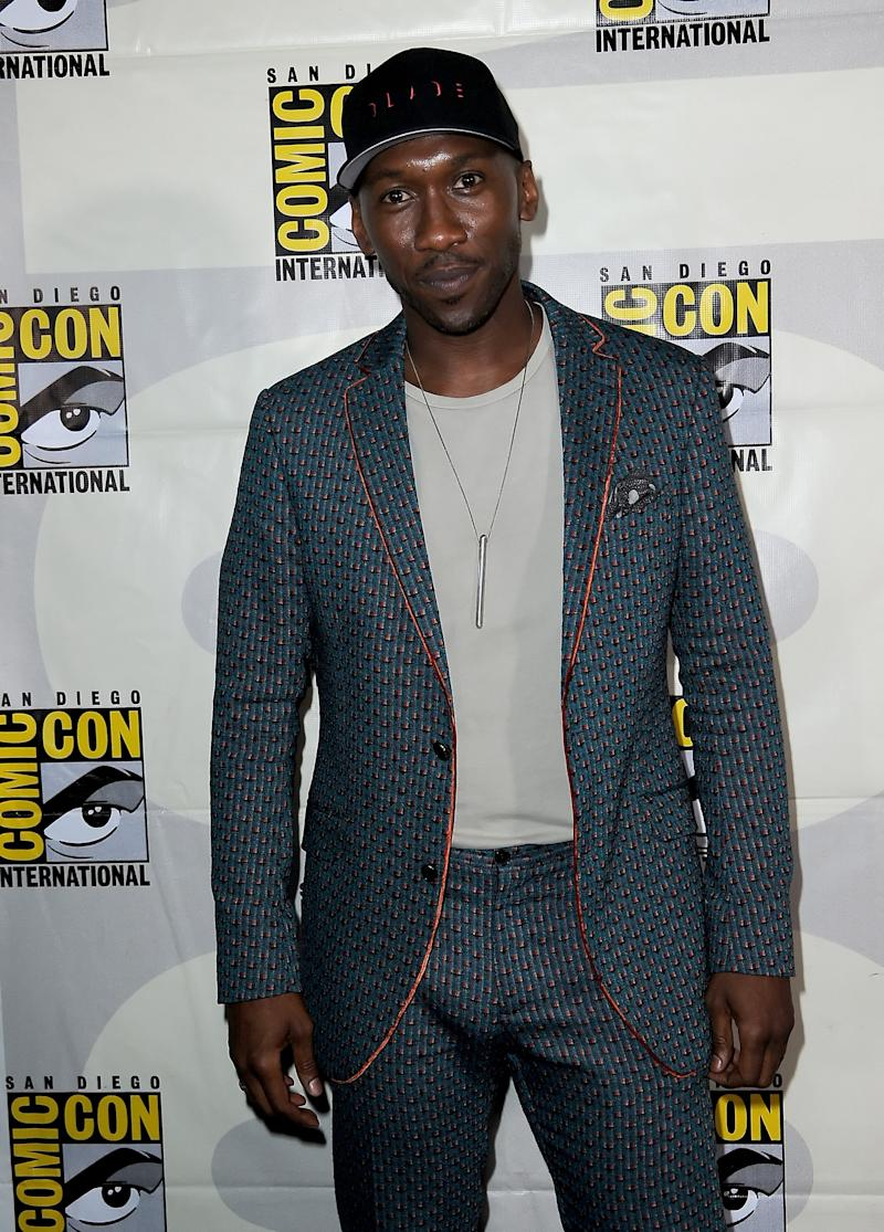 SAN DIEGO, CALIFORNIA - JULY 20: Mahershala Ali attends the Marvel Studios Panel during 2019 Comic-Con International at San Diego Convention Center on July 20, 2019 in San Diego, California. (Photo by Albert L. Ortega/Getty Images)