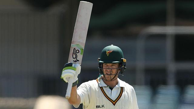 Australia Test captain Tim Paine downplayed his second first-class hundred, which came 13 years after his first.
