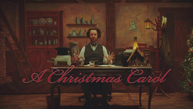 Colin Hanks as Charles Dickens (Photo: Comedy Central)