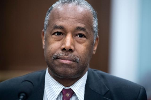 Ben Carson, the secretary of housing and urban development, at a March congressional hearing. (Photo: Tom Williams via Getty Images)