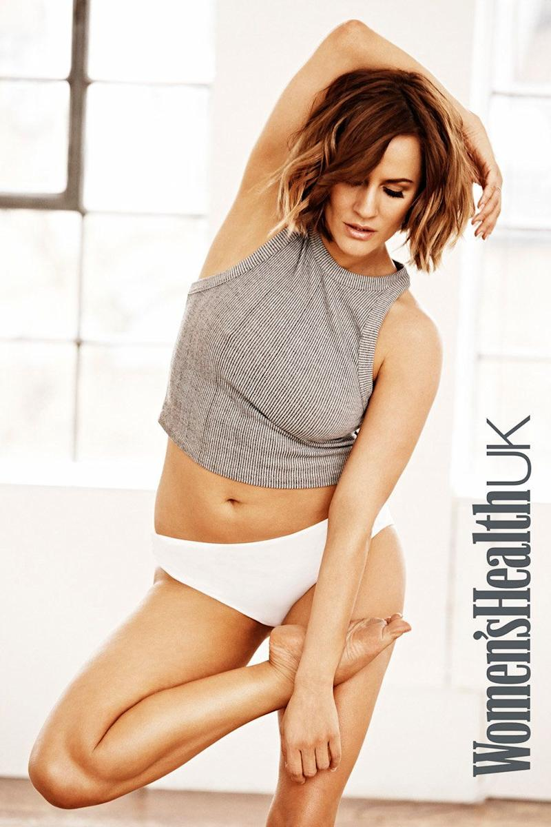 <strong>Caroline Flack was attacked by trolls during the last series of 'X Factor'</strong> (Photo: Women's Health/Ian Harrison)