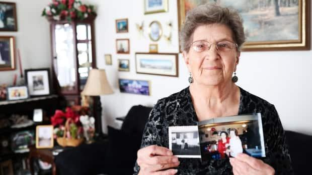 Victoria Ryczak's dear friend Kathleen Wallace died in February. The two had written letters since they were 12, in 1950. (Heidi Atter/CBC - image credit)