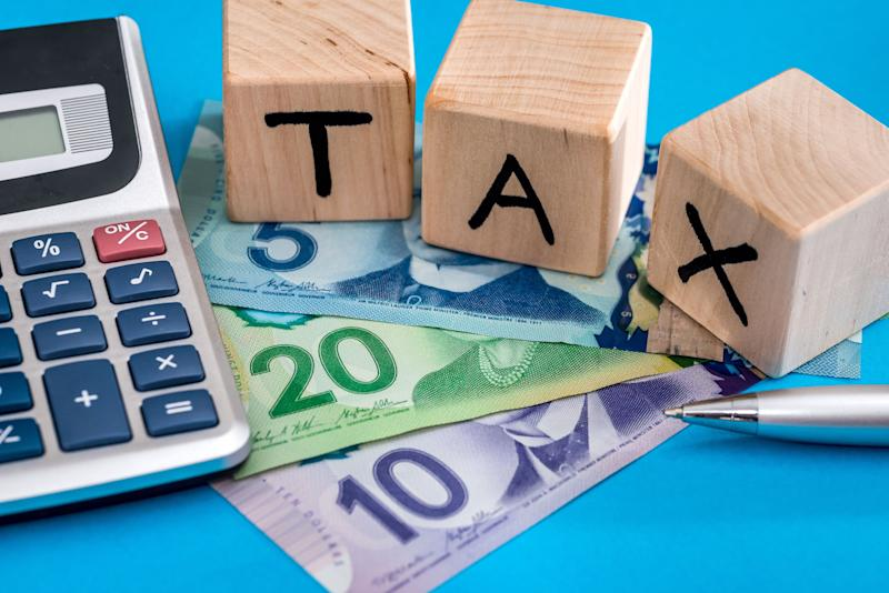 Millions of Canadians who received CERB payments this year could be in for a shock at tax time, tax experts are warning. (Photo: alfexe via Getty Images)