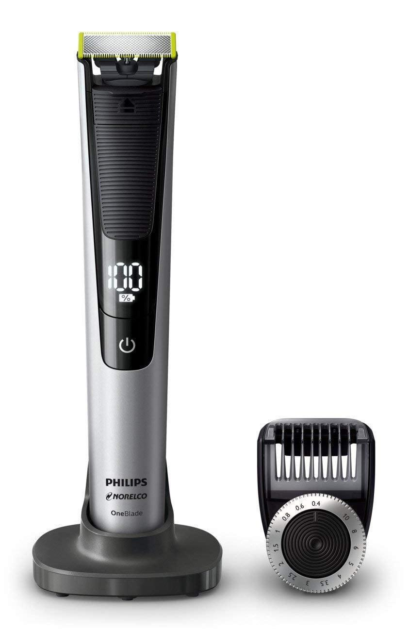 """<p>Keep him well-groomed with this <a href=""""https://www.popsugar.com/buy/Electric-Trimmer-Shaver-400160?p_name=Electric%20Trimmer%20and%20Shaver&retailer=amazon.com&pid=400160&price=73&evar1=geek%3Aus&evar9=36026397&evar98=https%3A%2F%2Fwww.popsugar.com%2Ftech%2Fphoto-gallery%2F36026397%2Fimage%2F45606077%2FElectric-Trimmer-Shaver&list1=gifts%2Choliday%2Cstocking%20stuffers%2Cgift%20guide%2Cdigital%20life%2Ctech%20gifts%2Cgifts%20for%20men&prop13=mobile&pdata=1"""" class=""""link rapid-noclick-resp"""" rel=""""nofollow noopener"""" target=""""_blank"""" data-ylk=""""slk:Electric Trimmer and Shaver"""">Electric Trimmer and Shaver</a> ($73).</p>"""