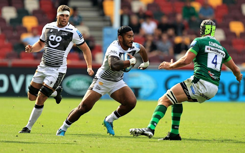 Manu Tuilagi was back to his best against London Irish - GETTY IMAGES
