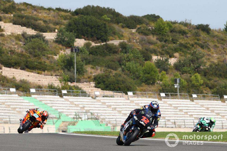 """Marco Bezzecchi, Sky Racing Team VR46, Jorge Martin, Red Bull KTM Ajo <span class=""""copyright"""">Gold and Goose / Motorsport Images</span>"""