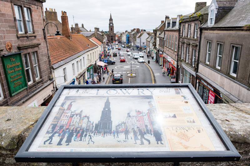 Where did LS Lowry go when he wanted to get away from it all? Berwick-upon-Tweed. - STUART NICOL PHOTOGRAPHY