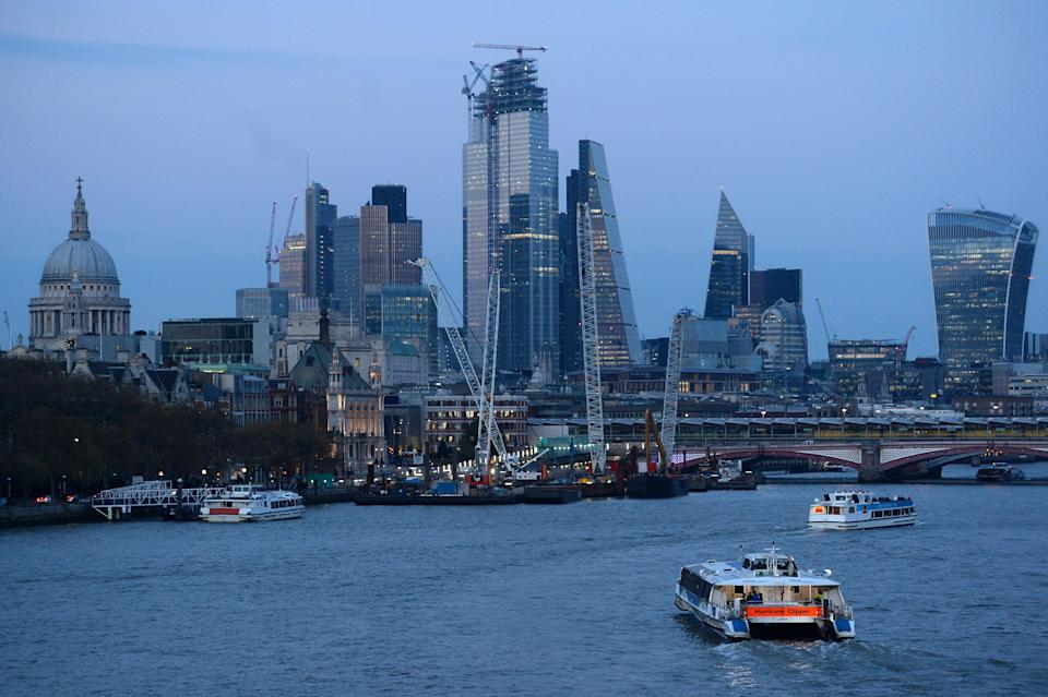 London's economy includes £122m of services exports. Photo: Kirsty O'Connor/PA Wire/PA Images