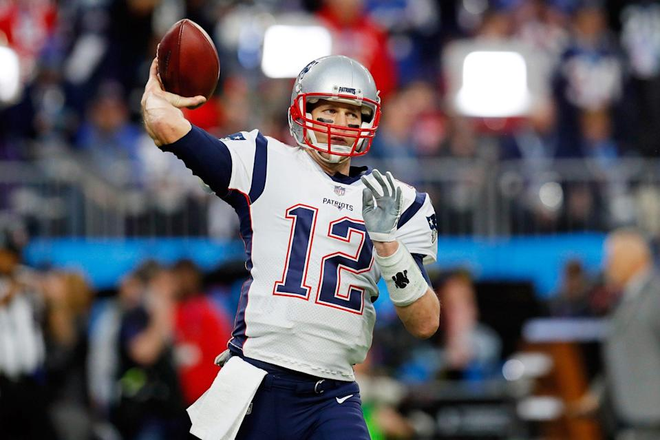 <p><strong>Age at the Time of Super Bowl LII: </strong>41 years old </p> <p>In 2018, Brady (still the quarterback for the New England Patriots) became the oldest quarterback to win a Super Bowl at Super Bowl LII. </p> <p>He was also the oldest NFL player to be named Super Bowl MVP at 39 and the oldest to be named league MVP at 40. </p>