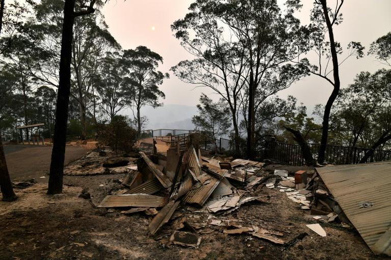 The scale of this year's bushfire devastation has been widely described as unprecedented (AFP Photo/SAEED KHAN)