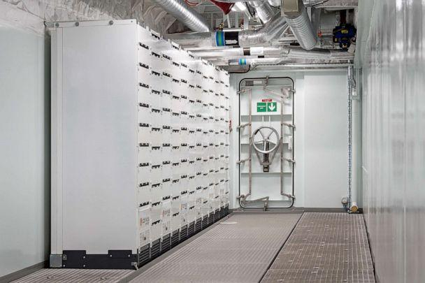 PHOTO: The battery room is shown on the MS Roald Amundsen, a hybrid powered expedition cruise ship. (Hurtigruten AS)