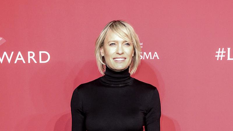 Robin Wright on Whether Kevin Spacey Deserves a Second Chance Following Sexual Assault Allegations