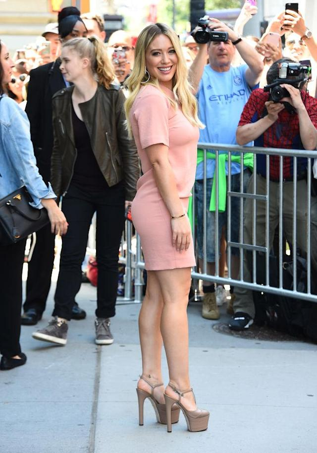<p>Haylie Duff watched her little sis Hilary go from TV star, to movie star, to pop star, to fashion star, back to TV star. We bet she's proud, we sure are. (Photo: Getty Images) </p>