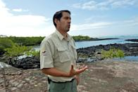 Sixty percent of research activities planned for 2020 were suspended due to the Covid-19 pandemic, Galapagos National Park director Danny Rueda said