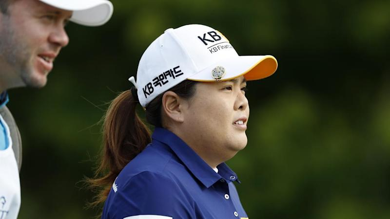 Korean golfer Inbee Park is leading at the Women's Australian Open