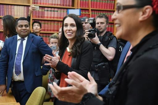 New Zealand's Ardern vows 'government of change'