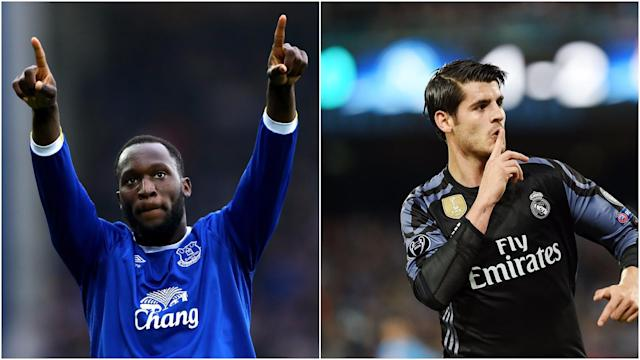 Other than Alvaro Morata, Jimmy Floyd Hasselbaink believes Romelu Lukaku is the only man suitable to replace Diego Costa at Chelsea.