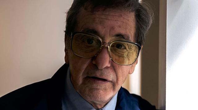 "<p>The first look at Al Pacino playing former Penn State football coach Joe Paterno in an upcoming film has been <a href=""http://variety.com/2017/tv/news/hbo-al-pacino-joe-paterno-barry-levinson-1202496995/amp/"" rel=""nofollow noopener"" target=""_blank"" data-ylk=""slk:released"" class=""link rapid-noclick-resp"">released</a> by <em>Variety</em>.</p><p>The film has not been titled but will be directed by Barry Levinson for HBO.</p><p>It was also revealed that Annie Parisse will play Paterno's daughter and Riley Keough will play Sara Ganim, the 23-year-old journalist who reported on the scandal.</p><p><em>Here's the photo from Variety:</em></p><p>""After becoming the winningest coach in college football history, Joe Paterno is embroiled in Penn State's Jerry Sandusky sexual abuse scandal, challenging his legacy and forcing him to face questions of institutional failure on behalf of the victims,"" the film's log line states.</p>"