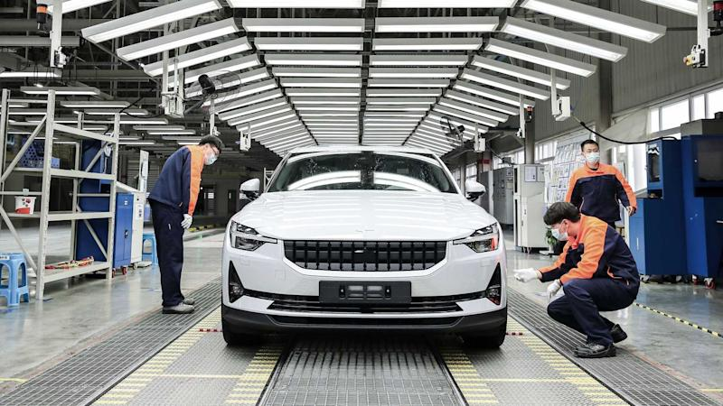 Polestar 2 Produktion in Luqiao, China