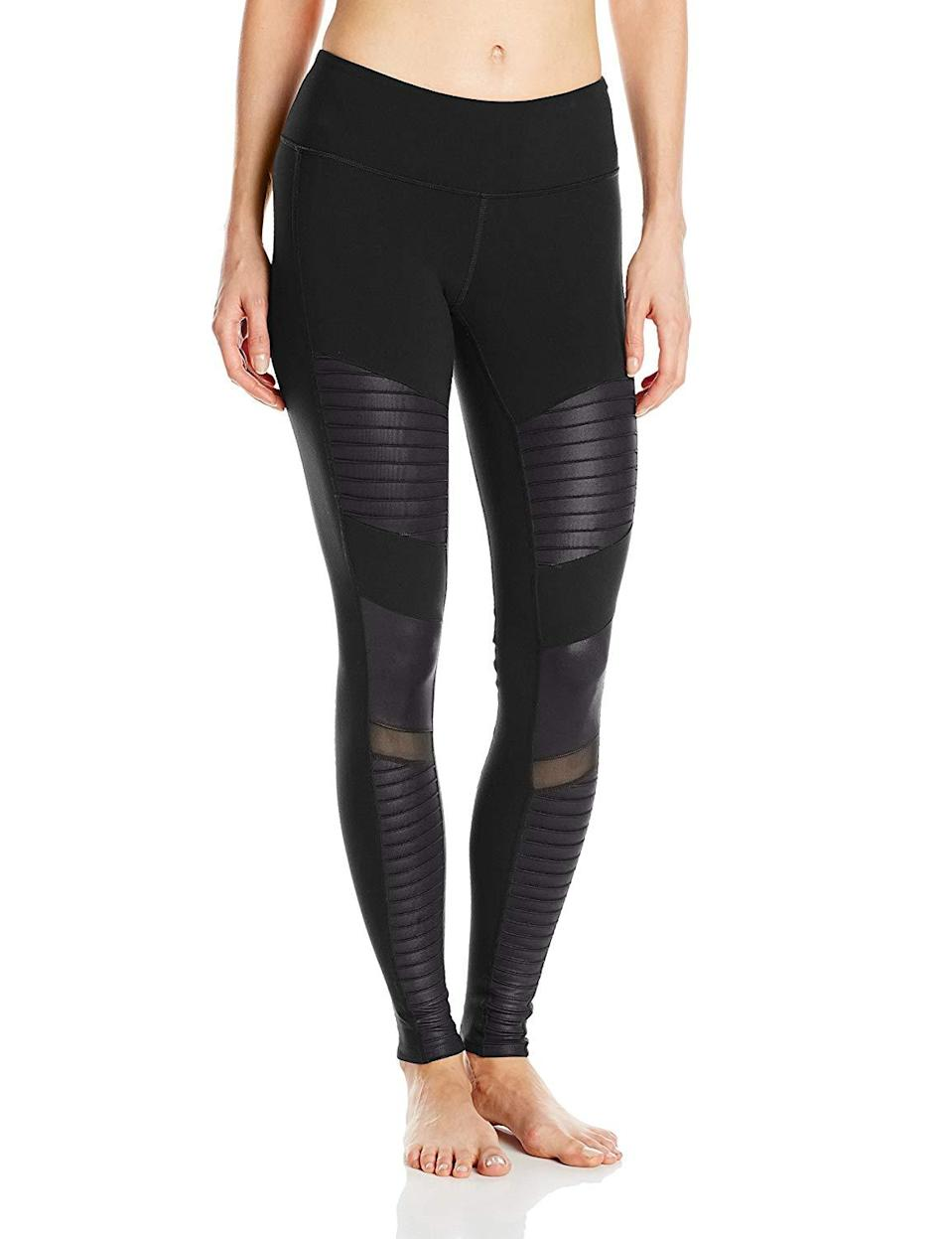"<h3><a href=""https://www.amazon.com/Alo-Yoga-Womens-Legging-Glossy/dp/B00UUGWRCS"" rel=""nofollow noopener"" target=""_blank"" data-ylk=""slk:Alo Yoga Moto Legging"" class=""link rapid-noclick-resp"">Alo Yoga Moto Legging</a> </h3><br><br>4.5 out of 5 stars and 271 reviews<br><br><strong>Promising Review:</strong> One reviewer, <a href=""https://www.amazon.com/gp/customer-reviews/R38XW0ERHM85PS"" rel=""nofollow noopener"" target=""_blank"" data-ylk=""slk:Kathy"" class=""link rapid-noclick-resp"">Kathy</a>, is sure these moto inspired leggings will make your ex eat their heart out: ""Best leggings I have ever worn. I have probably got more than 70 pair of leggings. Some great, some eh. I bought two pair of Alo leggings for the first time and both pairs are absolutely fantastic!! The fit is awesome. I feel like a million bucks when I wear them. Sometimes when you leave the house you think perhaps I could have made more of an effort. When I put these on I feel ready to meet my future ex-husband!! The price is totally worth it. I love them!!""<br><br><strong>Alo Yoga</strong> Moto Legging, $, available at <a href=""https://www.amazon.com/Alo-Yoga-Womens-Legging-Glossy/dp/B00UUGWRCS/"" rel=""nofollow noopener"" target=""_blank"" data-ylk=""slk:Amazon"" class=""link rapid-noclick-resp"">Amazon</a>"