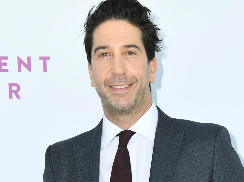 david schwimmer october 2019